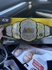 AEW Championship Belt ( Wwe Ecw Scratchthatfigureitch )