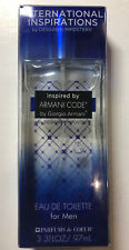 International inspirations inspired by Armani code by giorgio Armani edt for men