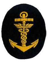 KRIEGSMARINE Administration NCO COMMERCE BADGE - WW2 REPRO Patch bleu marine
