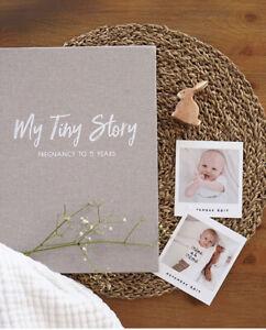 Baby Journal - Birth to 5 Years - Memory Book - Baby Shower Gift - Gender Neutra