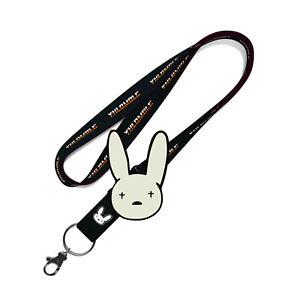 Bad Bunny YHLQMDLG Lanyard - FREE Bad Bunny Enamel Pin - FREE SHIPPING