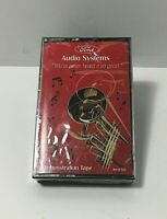 Vintage Ford Audio Systems Demonstration Cassette Tape in Case - New/ Sealed FS