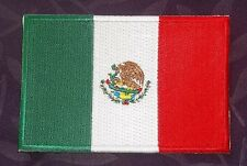 Mexico Mexican Flag Embroidered Patch Latino Sew/ Iron Diy