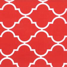 Quattro Grande Red Geometric Fabric - Moda - Studio M - BTY - 32986 20
