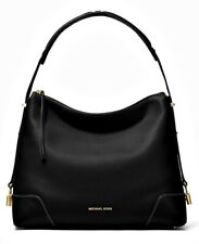 Michael Kors Bag Crosby LG Shoulder Bag Black New