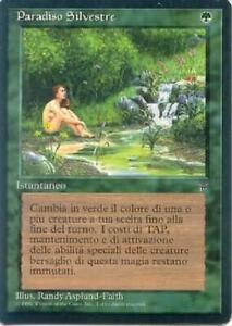 Sylvan Paradise NM MTG Legends Italian ITLE Magic Gathering 2B3