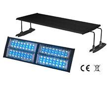LED IPX-100 cm Leuchte 72 Watt Weiß Blau Lampe für Aquarien Meerwasser