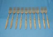 Community Oneida Enchantment Gentle Rose 1960 Dinner Fork Forks - 10