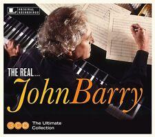 Real John Barry - 3 DISC SET - John Barry (2016, CD NUOVO)