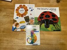 Eric Carle Trio Including Anthology Of Classic Stories!