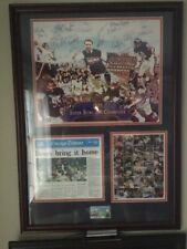 85-86' World Champs Team Signed Bears Pro NFL Poster!  COA