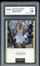2005 Maria Sharapova Ace Authentic Tennis Rookie  Gem Mint 10 #MS24