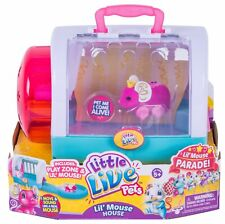 Little Live Pets Princess Whiskers Mouse And Cage