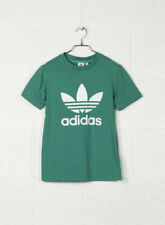 T-shirt, maglie e camicie da donna verde adidas in cotone
