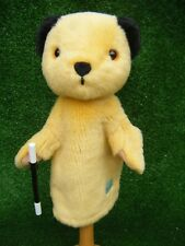 "Golden Bear  Sooty Hand Puppet with Wand 10"" approx (B106)"