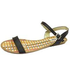 Sandalias y chanclas de mujer sintético talla 42