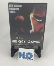 He got Game - Denzel Washington / Milla Jovovich / Ray Allen - PAL - DVD - NEUF