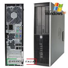 PC COMPUTER HP COMPAQ WINDOWS XP PROFESSIONAL con PORTA COM RS232 4GB RAM PS/2