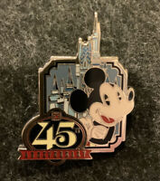 Disney Magic Kingdom 45th Anniversary Mystery Box Collection Mickey Castle Pin