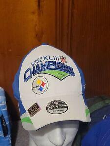 Pittsburgh Steelers Superbowl 43 Champs Locker Room Hat
