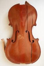 violon ancien NICOLAS BERTHOLINI violin A RESTAURER pour luthier