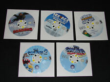 Lot of 5 NINTENDO Wii GAMES -  GREAT TITLES!!  SMURFS, ICE AGE, HOW TRAIN DRAGON
