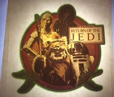 "Vintage Star Wars ""Ewok-Droids & Chewy"" T-Shirt Iron-On-""Jedi""-1983 NO/S Rare!"