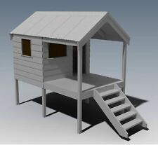 CUBBY HOUSE - PLAY HOUSE - Build One With Your Children - Full Building Plans V3