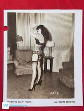 VTG ORIGINAL Circa.1950's BETTIE PAGE HEELS & NYLONS IRVING KLAW PHOTO 5644