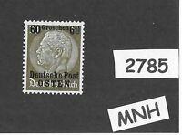 MNH / OSTEN overprint stamp 1940 Hindenburg 60GR German occupation Poland WWII
