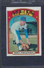 1972 Topps #016 Mike Jorgensen Mets NM *2073