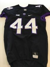Game Worn Used Nike TCU Horned Frogs Football Jersey #44 Size L