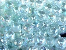 CLEAR GLASS MARBLES 4 POUNDS 9/16 INCH +or-   LUSTER FINISH  OLDER $13.99 POSTPD