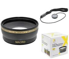 58mm HD Wide Angle Lens with Macro for Samsung NX300 NX30 NX20 NX11 NX10 18-55mm