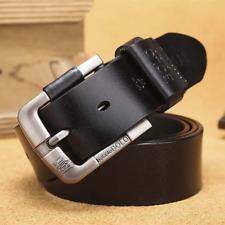Men Belt Cowhide Genuine Leather Belt for men Pin Buckle Jeans Cowboy Men's Belt