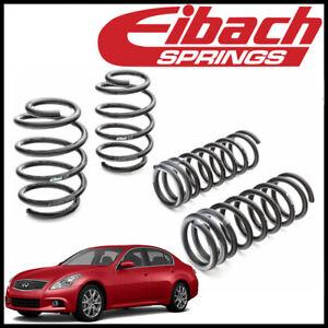 Eibach PRO-KIT Performance Lowering Springs fit 2009-2013 Infiniti G37 Sedan RWD