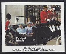 Royalty Sheet Falkland Island Stamps
