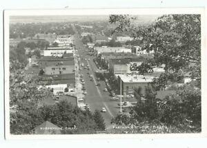 Susanville, CA California Old RPPC Postcard, Birdseye View by Eastman
