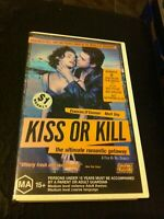 Kiss or Kill VHS Ex-rental video tape Australian AFI winning film 21st Century