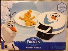 Disney Frozen Waffle Maker Build An Olaf Snowman Electric Novelty Waffle Iron