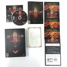 Diablo 3 PC Windows Mac Video Game Blizzard Entertainment USED 2012 Complete