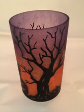 YANKEE CANDLE ALL HALLOWS EVE HALLOWEEN JAR CANDLE HOLDER NEW