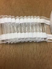 "2"" Curtain Net Tape, Price For 1 Metre"