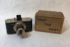 Lindstrom's Tin Candid Camera Dart Gun Mechanical Photo Target Shooting Toy 390