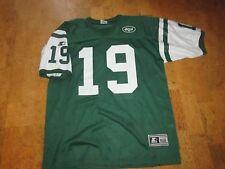 New York Jets K. Johnson 19 Football Jersey Men's Sz XL 52 Green White