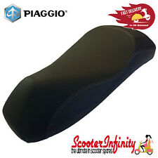 Sports Gel Seat GENUINE PIAGGIO Black Vespa GTS/GTS Super/GTV/GT/GT - Upto 2013
