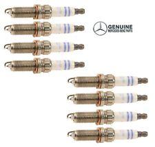 Genuine Set of 8 Spark Plugs For Mercedes W166 R172 W204 W207 W212 W216 W218