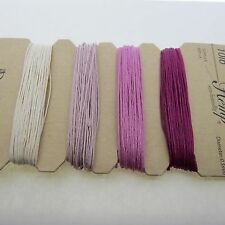 100% Natural Pure Hemp Shades of Ruby Brand: Dazzle-it! 10lb - 168 Feet 4 Colors