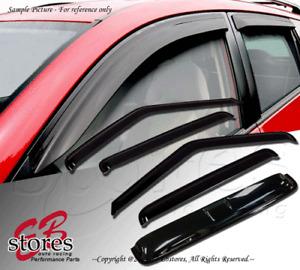 Vent Shade Outside Mount Window Visor Sunroof T2 5pc Chevy C20 C30 K20 K30 73-86