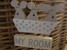 "SIA Kids  Nils & Molly  Haken  "" My Room ""   weiss   NEU"